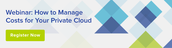 How To Manage Costs for Your Private Cloud webinar.